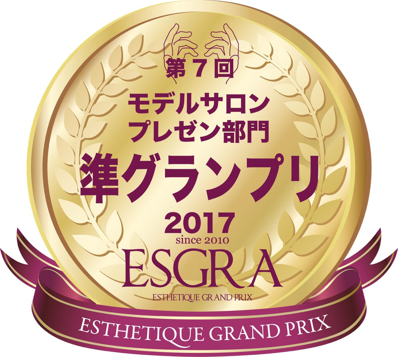 モデルサロンプレゼン部門準グランプリ2017ESGRA
